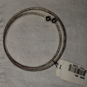NEW NINE WEST SILVERTONE BRACELET